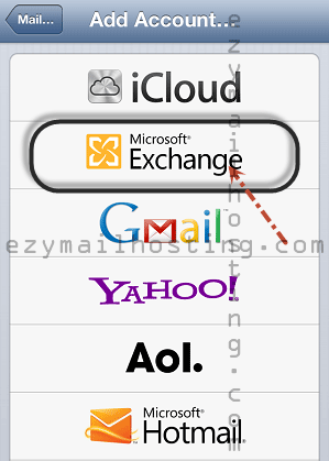 iphone-mail-setting-for-zimbra-Microsoft-Exchange