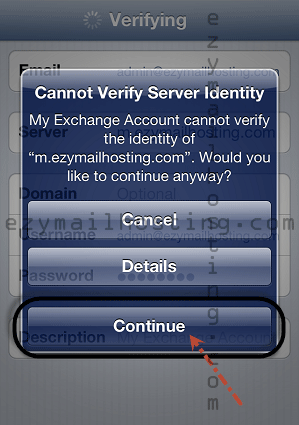 iphone-mail-setting-for-zimbra-cannot-verify